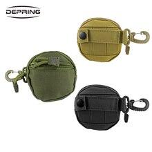800D النايلون التكتيكية حزام الحقيبة تقريب عملة صغيرة حقيبة مفتاح الحقيبة EDC نظام مول المنظم حديقة معلقة للصيد