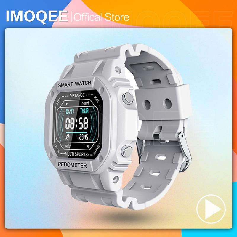 i2 Smart Watch Men Sports Fitness Waterproof IP67 Heart Rate Music Control Alarm Clock Reminder Smar