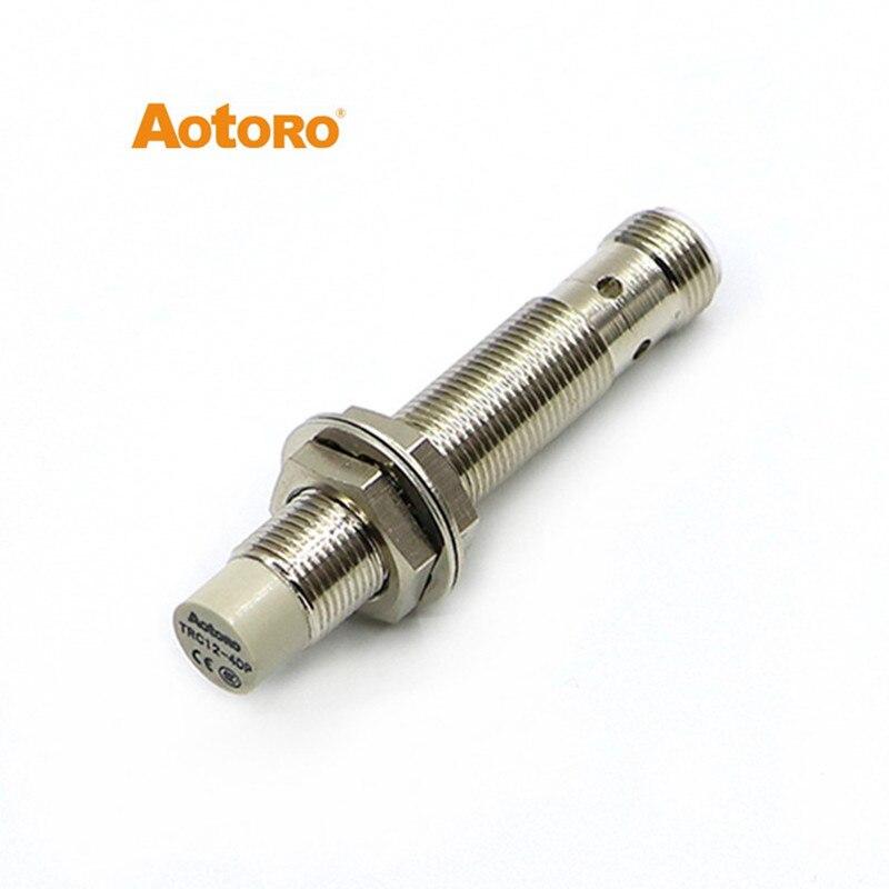 Złącze M12 TRC12-4DP przetwornik indukcyjny przełącznik zbliżeniowy czujnik gorąca sprzedaż
