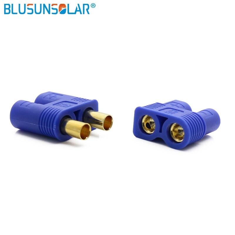 2000 pares hembra y macho EC3 banana plug Bullet Connector con carcasa para RC ESC LIPO Motor de batería