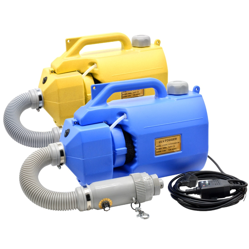 5L 1000W Electric ULV Cold Fogger Portable Sprayer Disinfection Machine Insecticide Atomizer Portable Fogger Machine 110V/220V enlarge