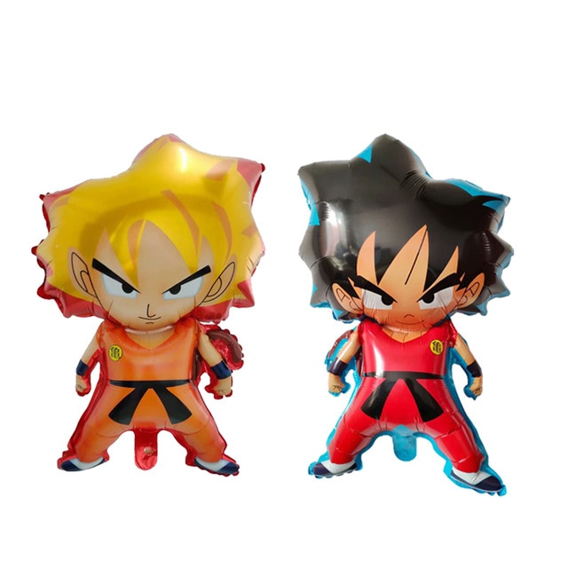 50psc/lot 7 história De Dragon Ball Goku wu kong balões Infláveis Balão Da Folha Para O Aniversário Decorações Do Partido dos miúdos brinquedo suprimentos