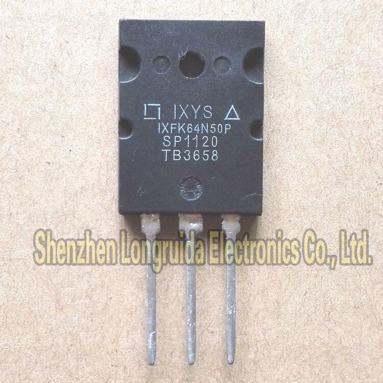 10 Uds IXFK64N50P IXFK64N50 IXFK64N50Q3-264 TRANSISTOR MOSFET 64A 500V