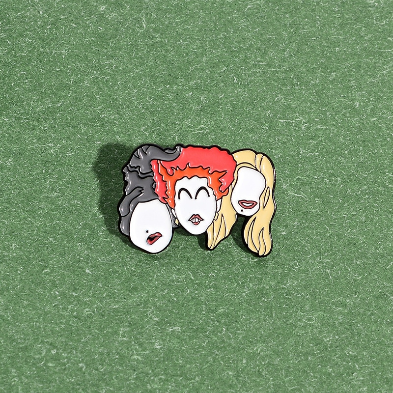 XEDZ united sisters enamel pin feminism beauty friendship girl pushpin color badge shirt lapel brooch jewelry gift for friends  - buy with discount