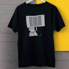 One Punch Man Opm Shot Faced Brat Saitama New Black Tees T-Shirt S-3Xl 2Xl 20Xl Tee Shirt