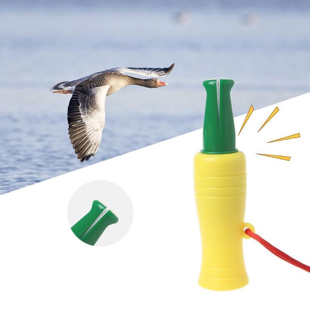 Decoy Caller Outdoor Hunting Imitation Duck Call Whistle Plastic Wild Duck Wild Goose Lure Whistle Pheasant V8A8 wholesale denmark outdoor hunting decoy 50w decoy loud speaker bird caller hunting bird mp3 with 210 bird sounds