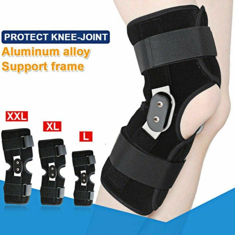 Stabilisateur réglable de capuchon de manchon de renfort de soutien darticulation de rotule de genou articulé