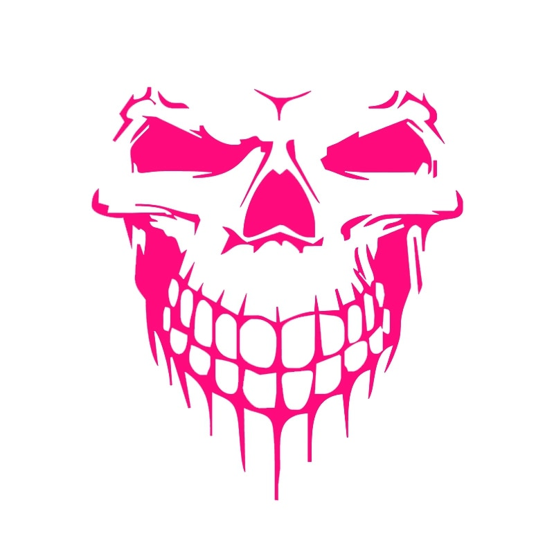 Car Sticker 15.9*17.7CM Stickers on Car Skull 3D Vinyl Funny Stickers and Decals Auto Motorcycle Car Styling Decoration недорого