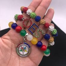 Strass étoile orientale os multicouche Bracelet bijoux accessoires bricolage perles breloque Bracelet & Bracelet pour femme 1 pièces