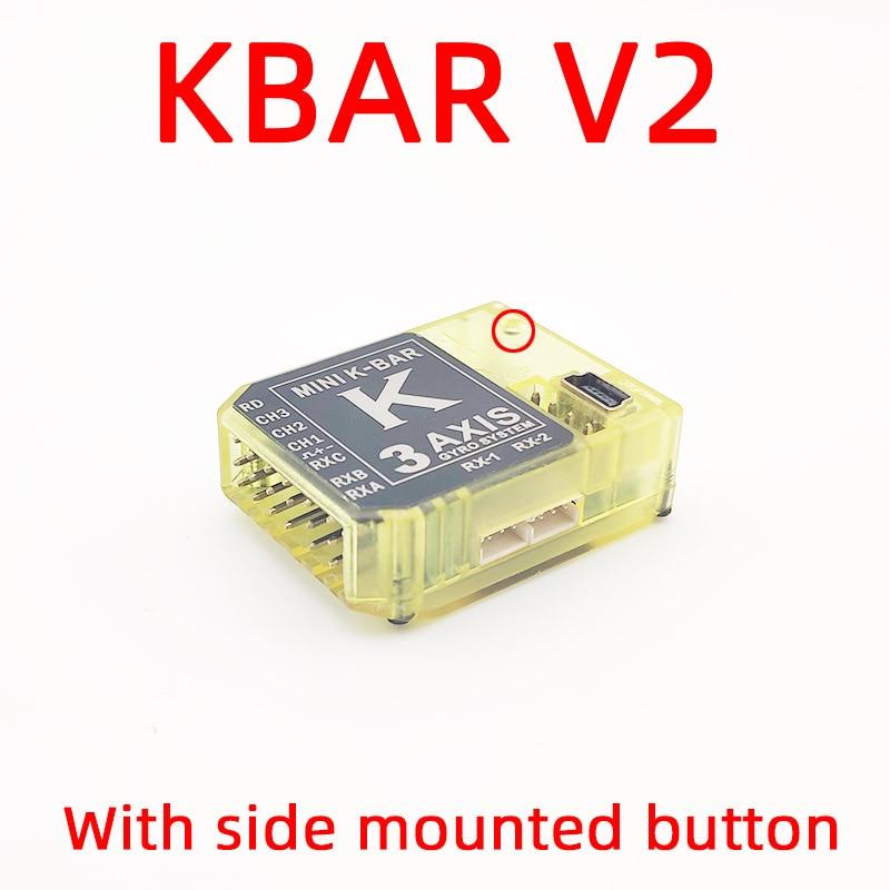 نظام تثبيت جيروسكوب K8 3Axis Gyro KBAR V2 5.3.4PRO ، بدون Flybarless ، لطائرة هليكوبتر ALZRC 450 X360 380 420 500 550
