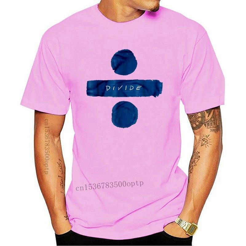 Divide Ed Streetwear Harajuku 100%Cotton Men'S Tshirt Sheeran Tshirts