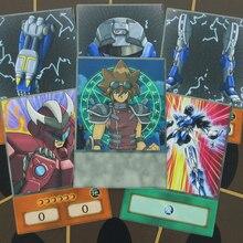 16pcs/set Doma Swordsman Valon Armor Deck Anime Style Orica Body Equipment Card Psychic Armor Head Yu-Gi-Oh! Paper Cards