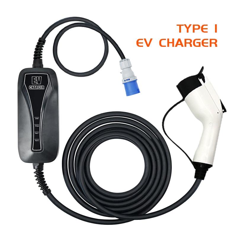 Cargador rápido EV Wallbox 32A para coche eléctrico, Cargador de vehículo eléctrico...