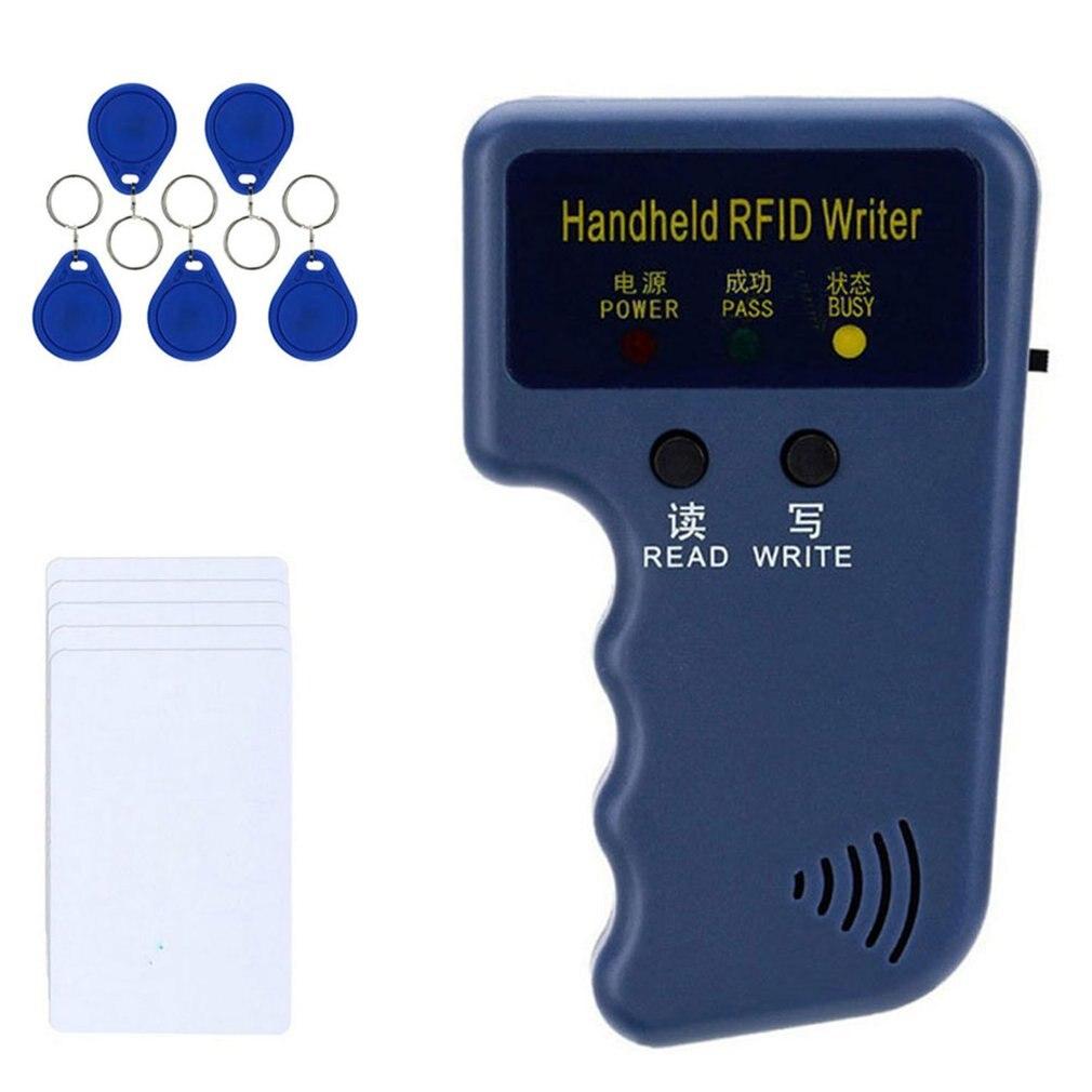 Ручной 125 кГц T5577 CET5200 EM4305 EN4305 Дубликатор RFID копиры программист считыватель писатель идентификационные метки перезаписываемая карта Cloner клю...