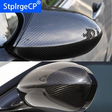 Hohe qualität Für BMW E90 E92 E93 M3 E82 1M 2008-2013 100% Real Carbon Fiber Rückansicht spiegel Abdeckung Seite Spiegel Kappen auto styling