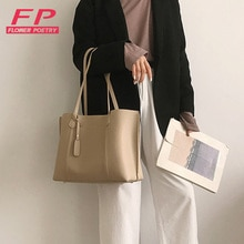 Luxury Hand bag Women Large Capactiy Shoulder Bags For Women 2020 Casual PU Leather Bags Female Hand