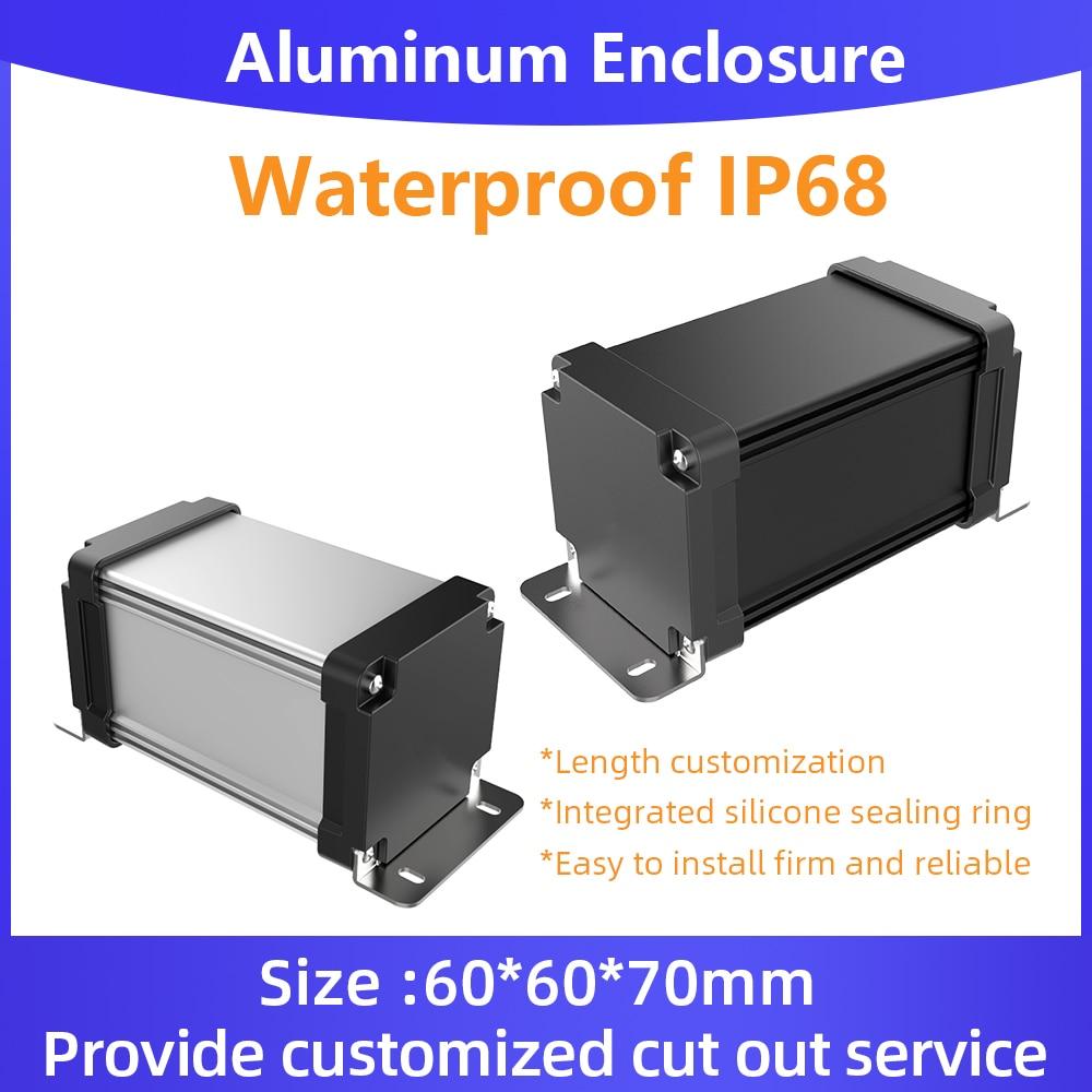 للماء تجدد Powerbank الضميمة Ip67 لوحة دوائر كهربائية بطارية الإسكان مخصص علبة توزيع إلكترونيات M10 130*65 مللي متر