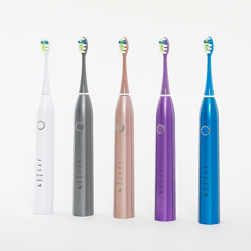 Sonic electric toothbrush intelligent vibration adult soft toothbrush whitening ultrasonic toothbrush inductive charging enlarge