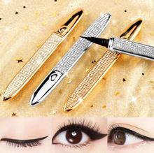 30pcs/lot Non-decoloring Beginner Star Diamond Eye Liner Pencil Waterproof And Durable No Shading Quick-dry Eye Makeup HA1851