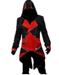 Black Red Assassinator Connor Kenway Jacket