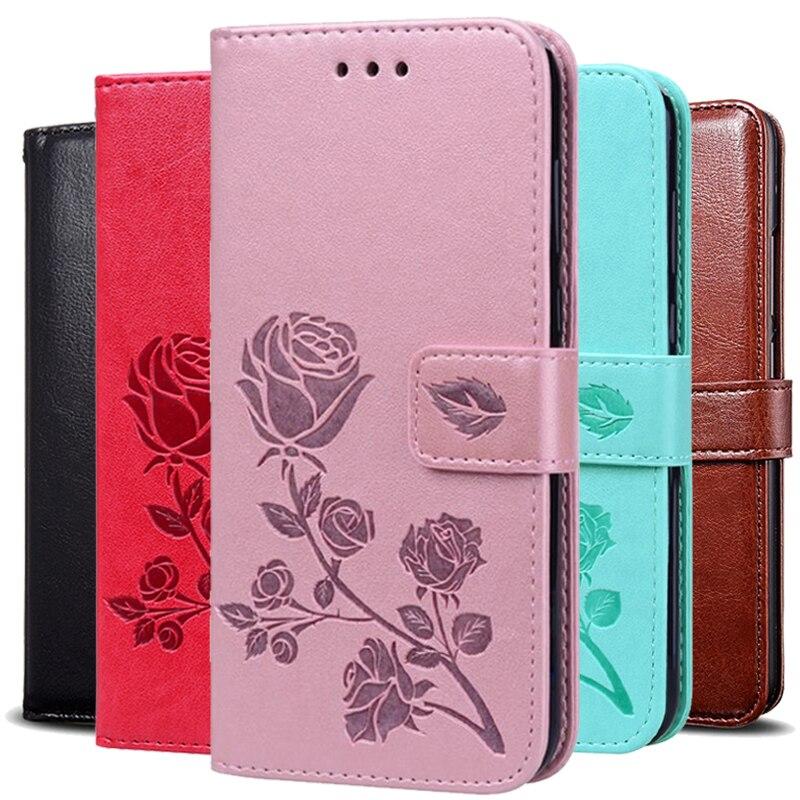 Cartera de cuero caso para HTC U12 M9 más vida de deseo 12 19 Plus VC T328D 10 Estilo de vida 10 Pro 12S M10 T6 uno Max cubierta