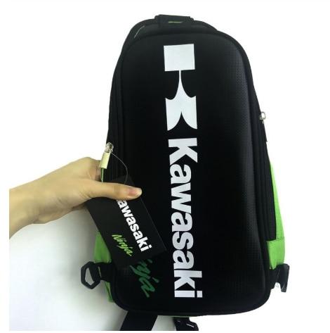 Kawasaki motocross bolsa de ombro mx dh atv motocicleta sacos peito moto equitação mochila viagem ao ar livre ciclismo saco peito