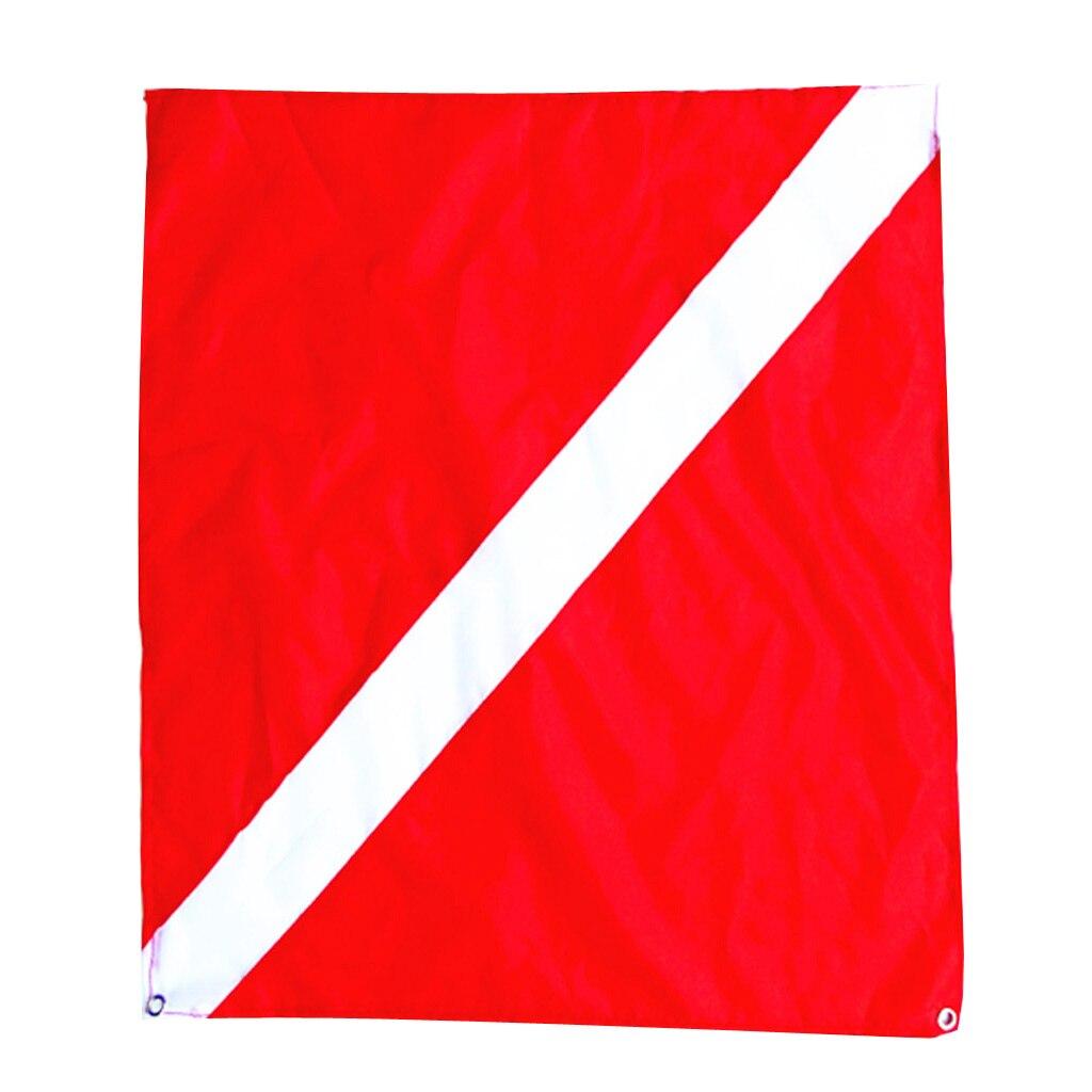 Ныряющий вниз флаг, красный и белый флаг, флаг подводного плавания, Морской Сигнальный Флаг 20x24
