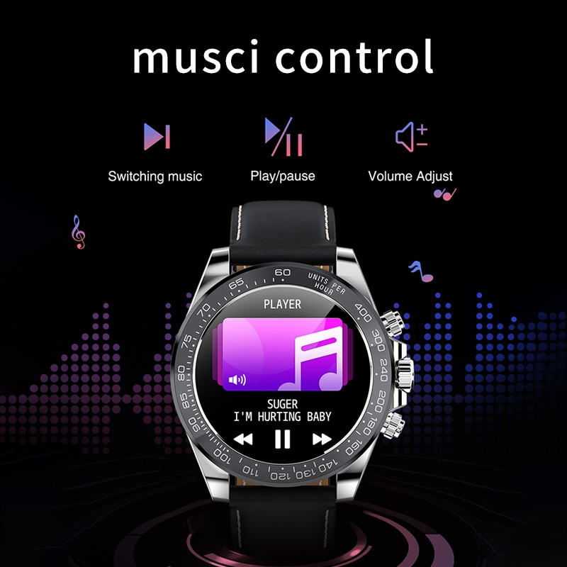 LIGE Smart Watch Men Sports Fitness Tracker Bluetooth Call Watches Full Touch Screen Men smartwatch Waterproof For Android ios