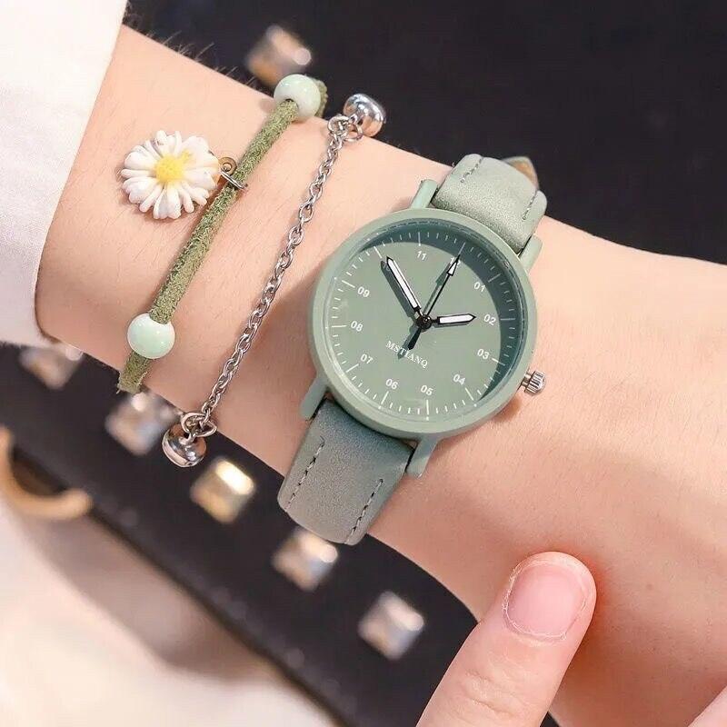 Новое поступление 2021, зеленый маття, женские винтажные наручные часы для девушек, женские наручные часы, наручные часы, подарок, оптовая про...