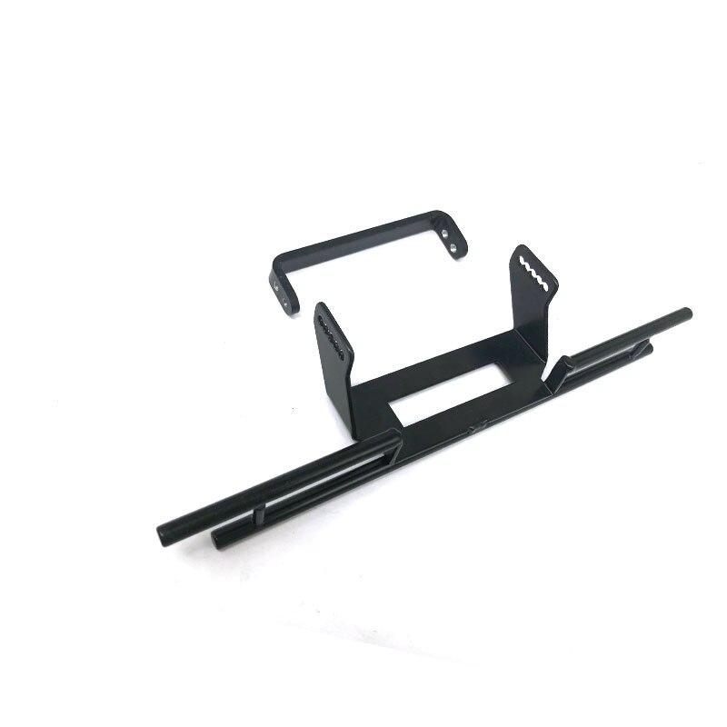 Metal Rear Bumper with Frame Bracket for RC Crawler Car Traxxas TRX4 G500 TRX6 G63 RC Car Upgrades Parts enlarge