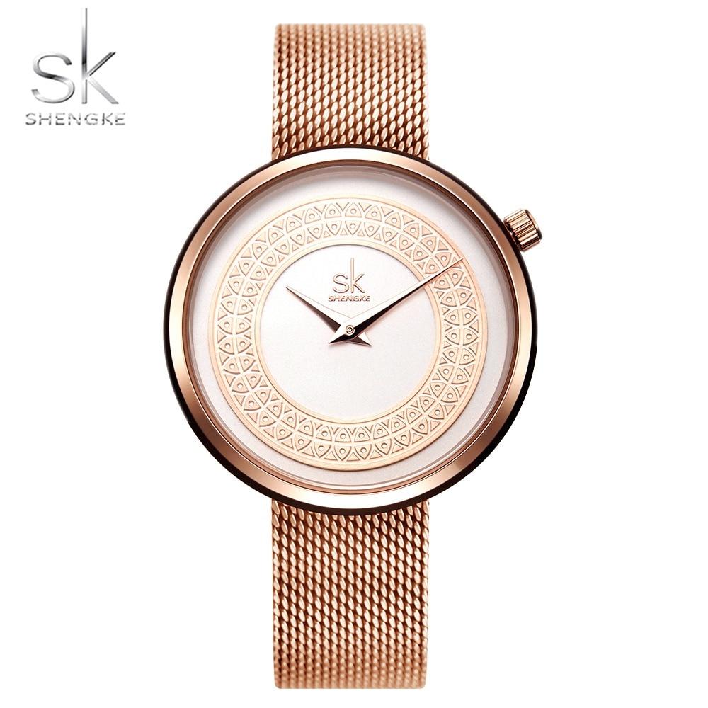 NO.2 النساء الساعات النساء ساعة الموضة خمر تصميم السيدات ساعة فاخرة العلامة التجارية الكلاسيكية الذهب معدن شريحة Zegarek Damski