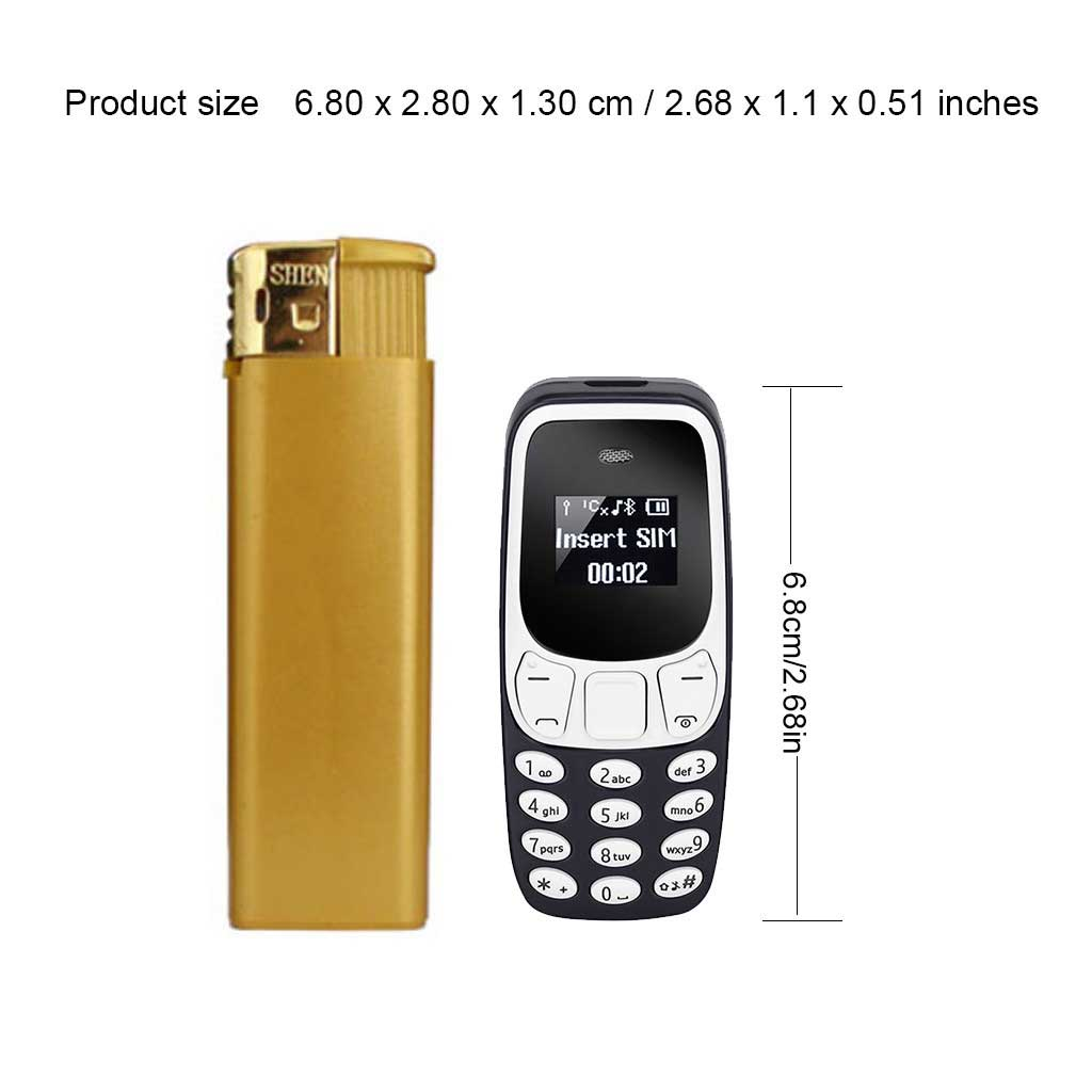 5Pcs/Set Super Small Mini Mobile Phone BM10 Dual Sim Card With MP3 Player Unlocked Voice Change Bluetooth Compact Phone enlarge
