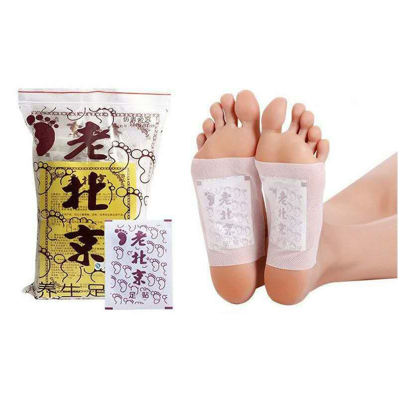 20Pcs/bag (10 adhesive +10patches) Weight Loss Detox Foot Pads Slimming Detoxify Remove Toxins Health Foot Care Relax Body