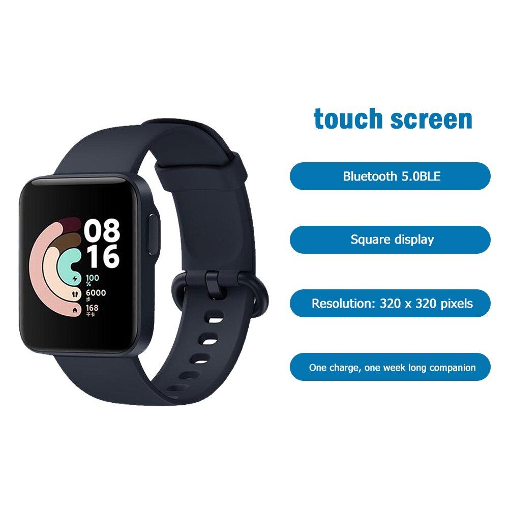 Monitor de Freqüência Relógio de Pulso Toque à Prova Redmi Polegada Cardíaca Esporte Presente Dnágua Esportes Nfc Wt01 1.4