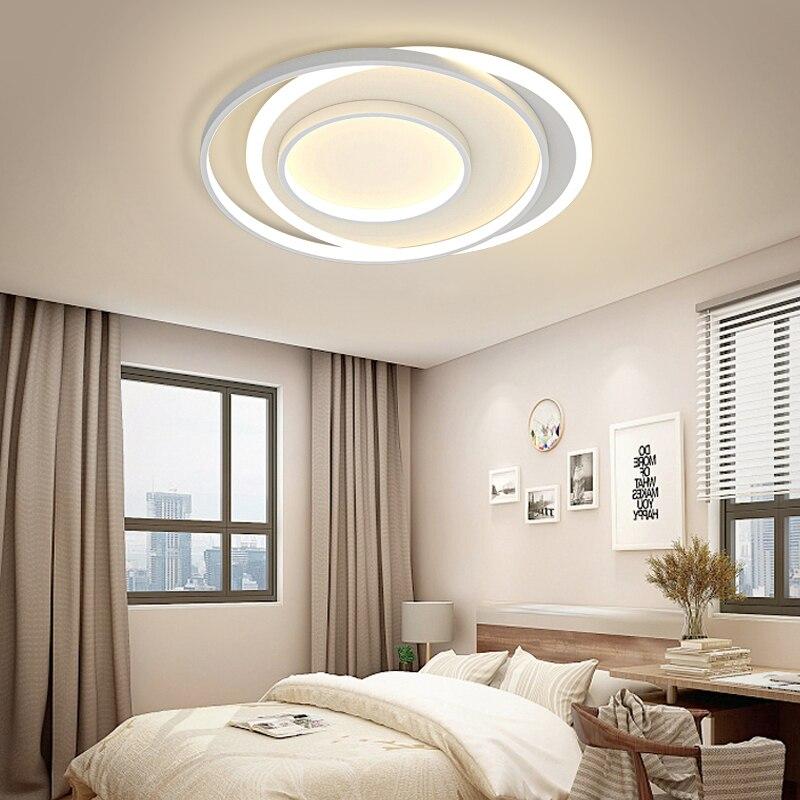 Потолочные декоративные светодиодные люстры, современные минималистичные светильники в скандинавском стиле для спальни, столовой, Роскош...