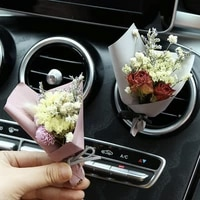 interior accessories car air freshener perfume mini dried flowers cute auto air vent clip aromatherapy car styling