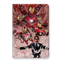 marvel avenger iron man for ipad 9 710 511 inch 2017 2020 case for ipad air123 cover for mini 12345 for ipad pro ipad2 4
