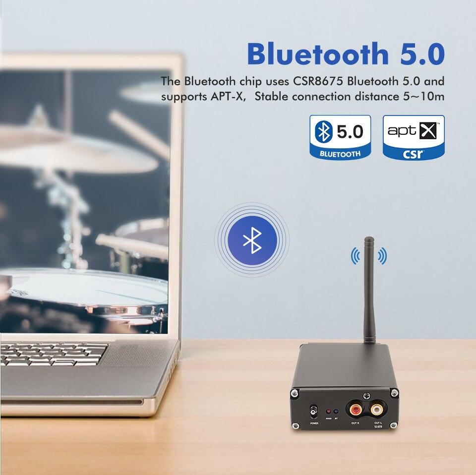 Aiyima Es9038q2m Decoder Coaxial Fiber Dac Csr8675 Bluetooth 5 0 Aptx Receiver Jrc5532 Decoding For Home Sound Amplifier Diy Amplifier Aliexpress