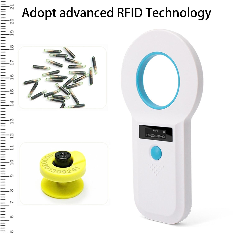 ISENVO AR180I Pet Microchip Reader Registration Animal Tag Reader Bluetooth 2.4G EMID Fox-B Animal ID Tag Handheld Scanner enlarge