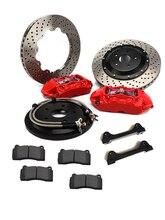 Haute Performance GT4 ensemble complet Kits de frein Auto voiture pièces frein 4 Pot étrier 330*28mm disque flottant Rotors adapté pour Bm w E92 M3