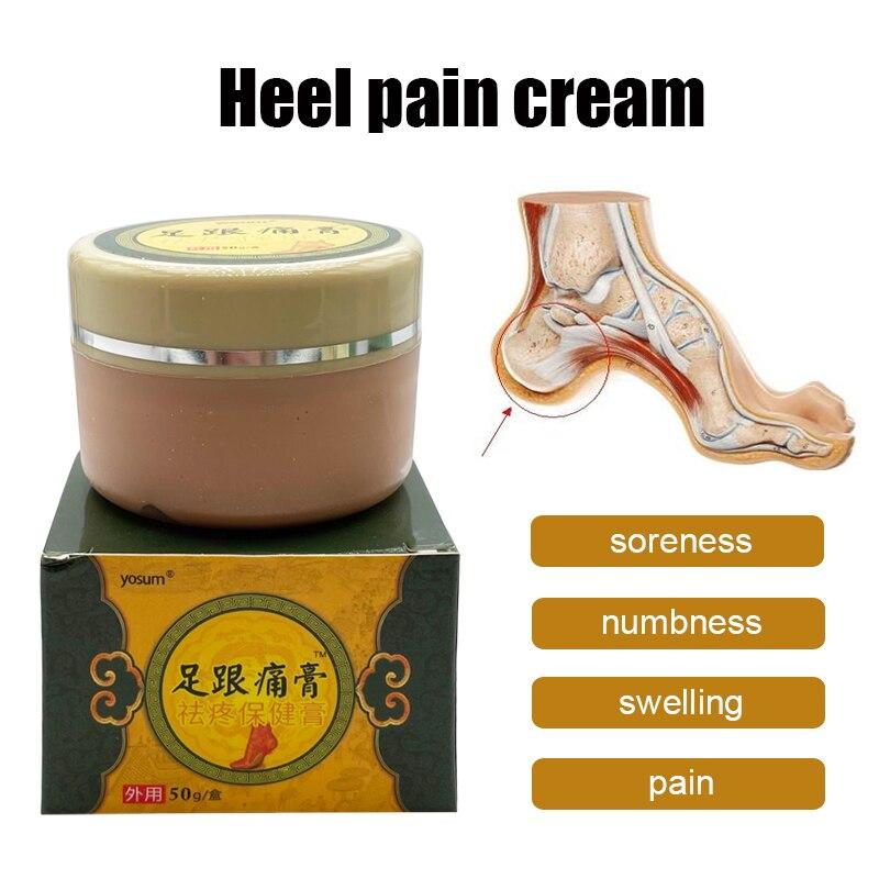 50G Heel Spur Pain Relief Cream Herbal Ointment Foot Sprain Waist Foot Bone Spurs Rapid Treatment Pl