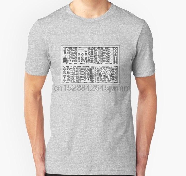 Hombres Camiseta de manga corta Eurorack Modular Synth T Shirt Delgado ajuste camiseta camisetas mujeres camiseta