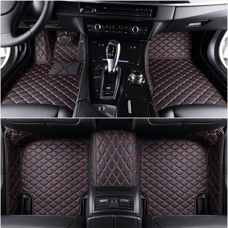 Tapetes de assoalho de carro personalizado, 5 assentos para opel astra j astra k astra h corsa vectra vivaro antara zafira todos modelos de tapetes de carro