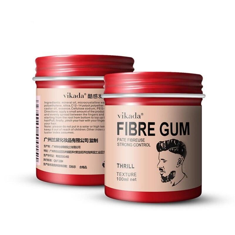 Para Hombre, Gel Retro para el cabello, cera, Gel para el cabello, fuerte sujeción, mate, acabado, Spray, mate, sin brillo, para un cabello seco y duradero