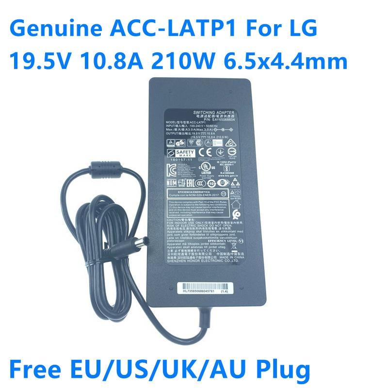 [해외] 정품 ACC-LATP1 19.5V 10.8A 210.6W EAY65068601 EAY65068604 LG 32UD99 32UL950-W 노트북 전원 충전기에 대 한 AC 스위칭