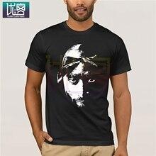 Tupac Shakur 2pac Thug Life hommes noir T-Shirt vêtements populaire T-Shirt col rond 100% coton t-shirts drôle t-shirts couverture en coton T-Shirt