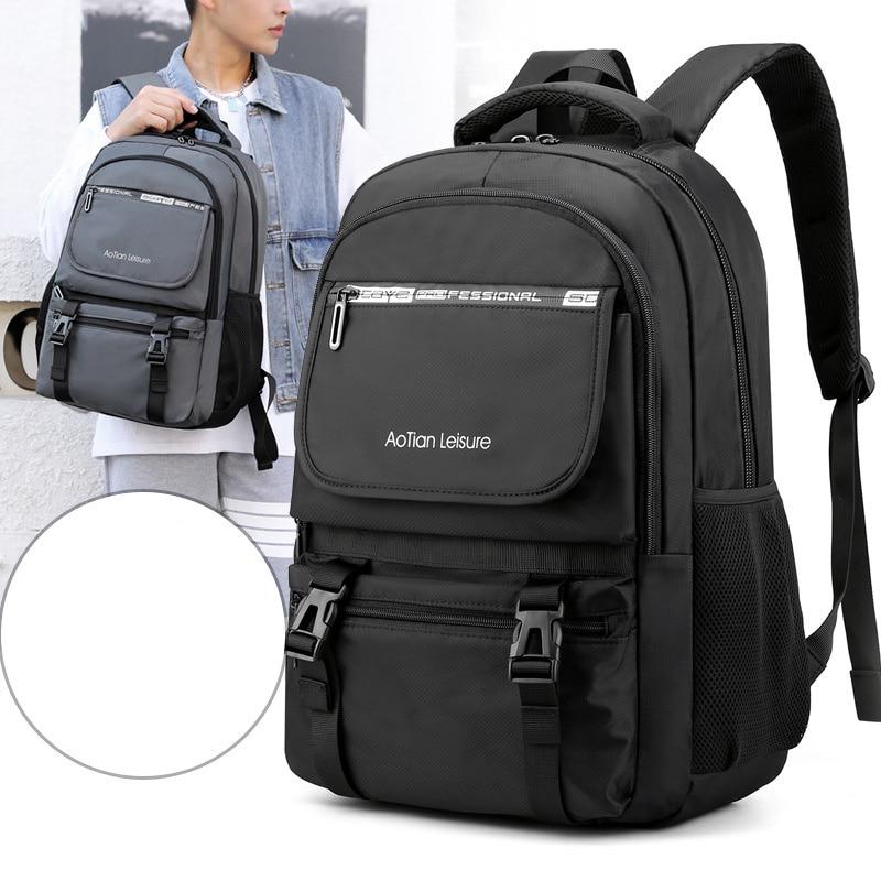 Scione-حقيبة ظهر للكمبيوتر المحمول للرجال ، حقيبة ظهر للكمبيوتر المحمول مقاومة للماء ، متعددة الوظائف ، سعة كبيرة ، حقيبة سفر للمراهقين