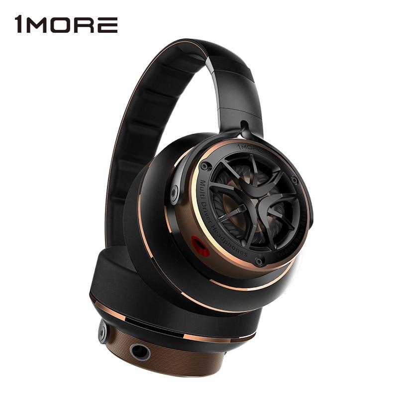 1MORE H1707-سماعة رأس سلكية ، سماعات Hifi عازلة للضوضاء على الأذن ، سماعة هاتف كبيرة ، تصميم قابل للطي
