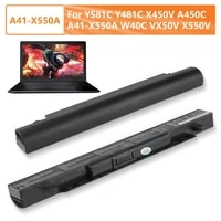 authentic replacement battery a41 x550a for asus y581c y481c x450v x550v a41 x550a w40c a450vb a450vc a450ve a550c a450c 2950mah