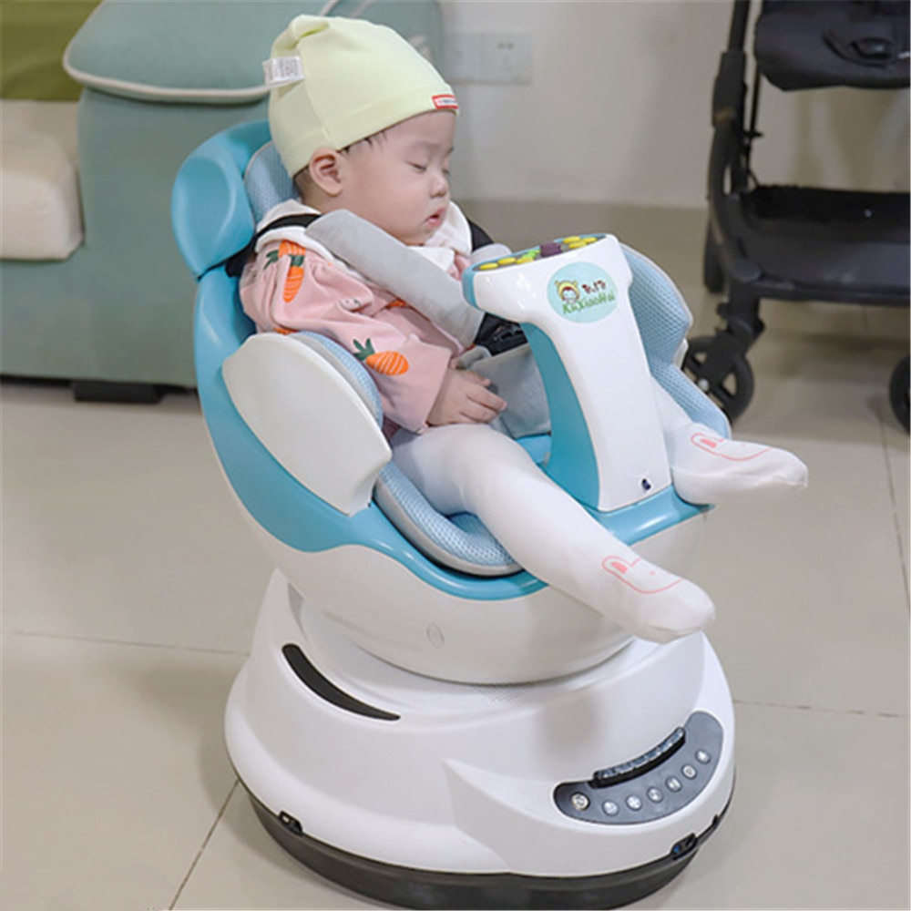 Smart Music Baby Rocking Chair Indoor Remote Control Electric Car Baby Balance Newborn Auto Swing Bounce